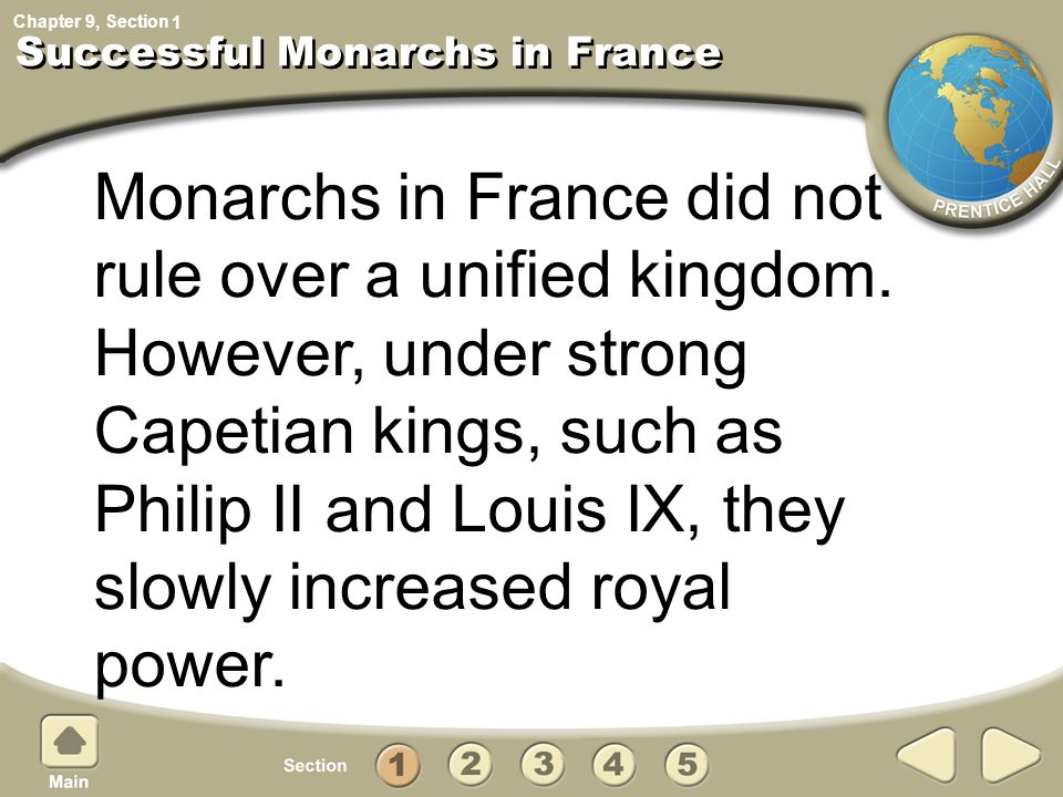 Successful Monarchs in France
