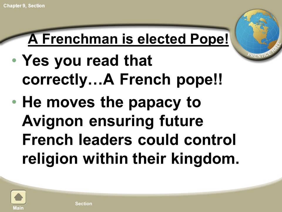 A Frenchman is elected Pope!