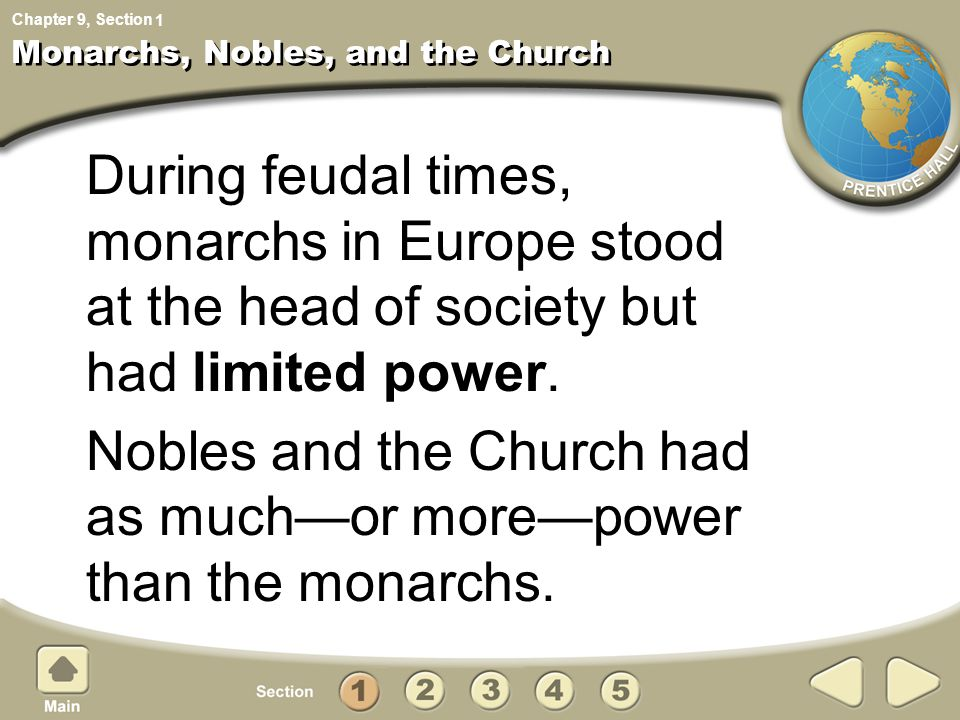 Monarchs, Nobles, and the Church