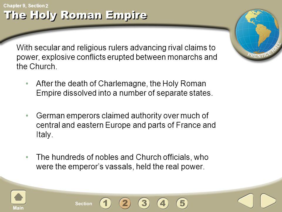 The Holy Roman Empire 2.