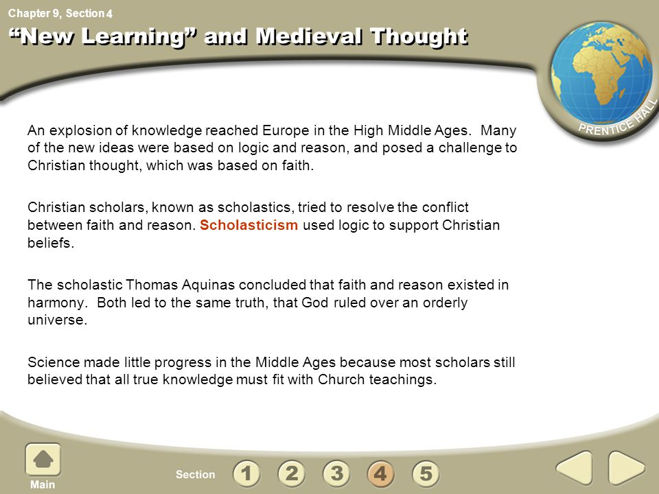 New Learning and Medieval Thought