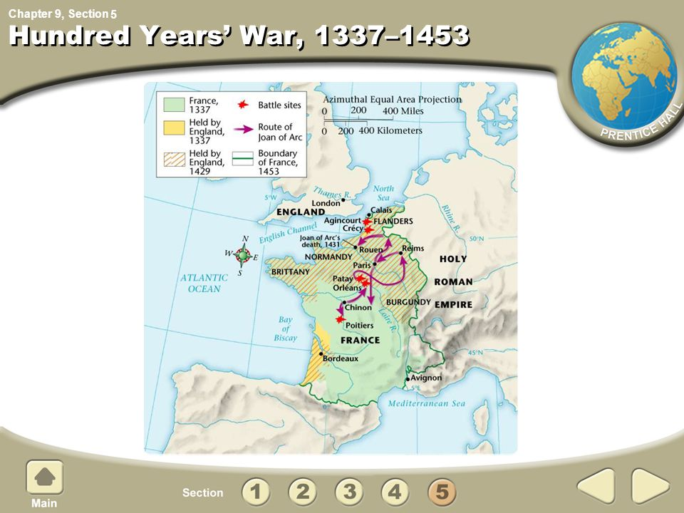 5 Hundred Years' War, 1337–1453
