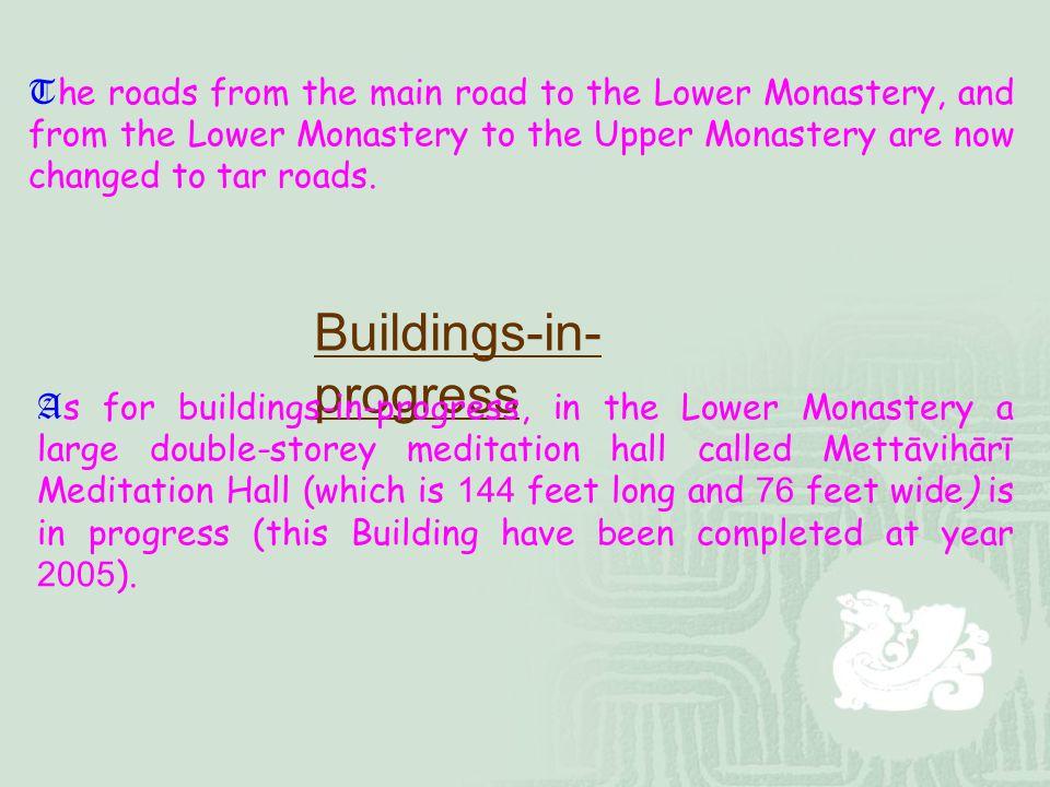 Buildings-in-progress