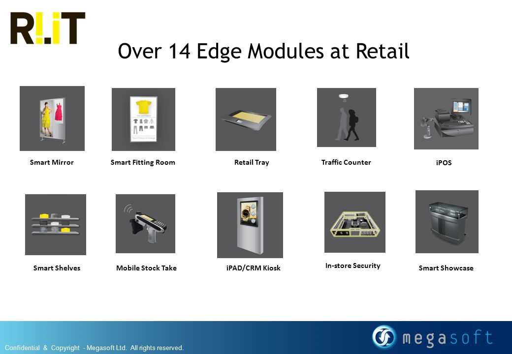 Over 14 Edge Modules at Retail