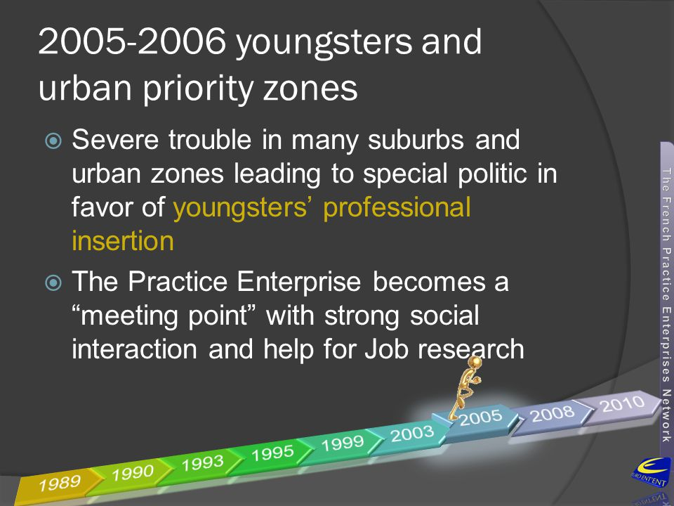 2005-2006 youngsters and urban priority zones