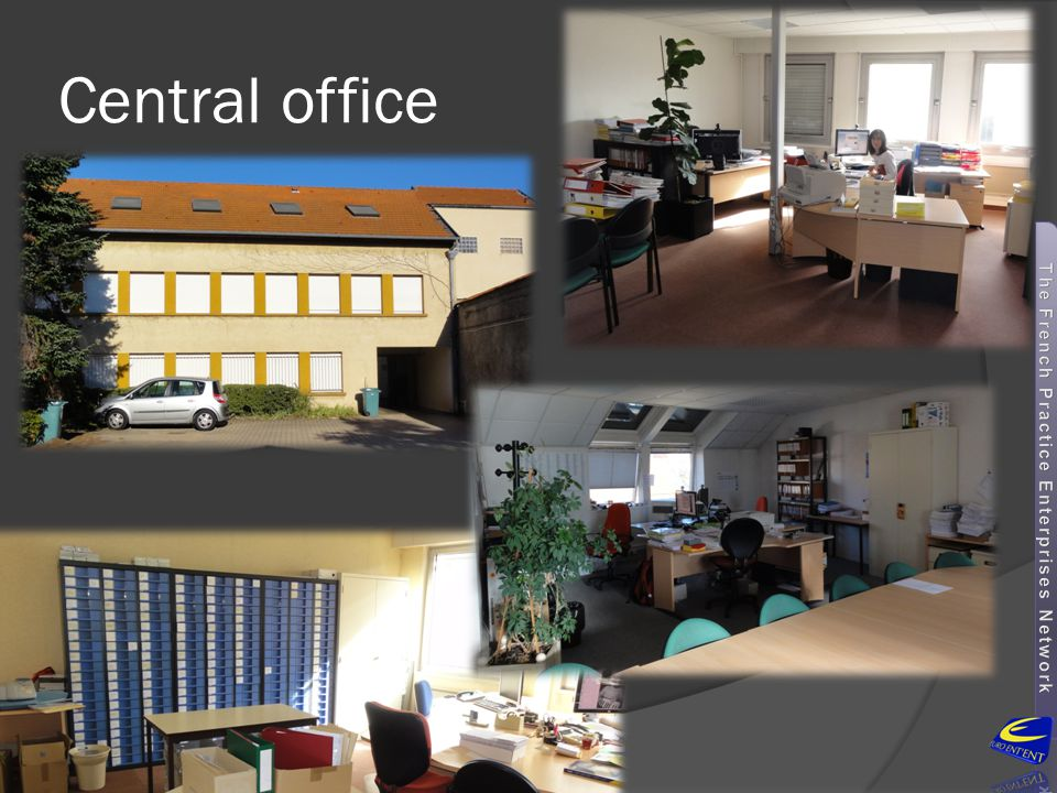 Central office Our Central office is located in Roanne (a small city in the middle of France, between Lyon and Clermont-Ferrand).