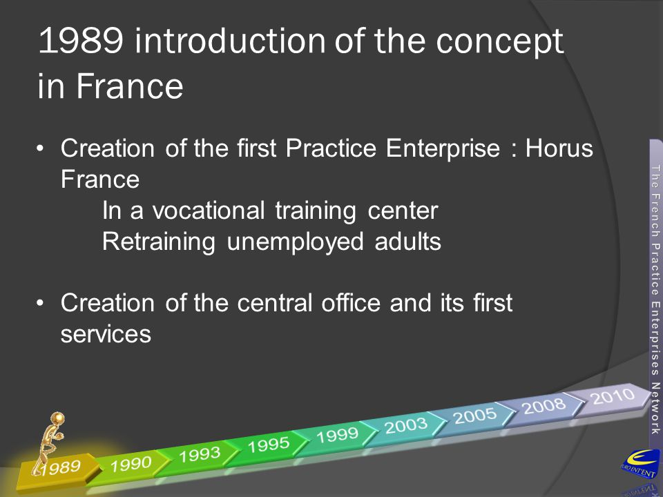 1989 introduction of the concept in France