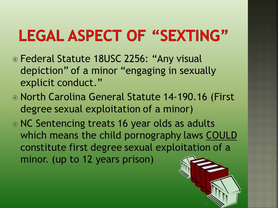 Legal aspect of Sexting