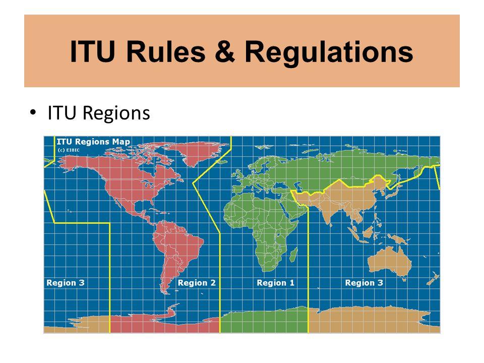ITU Rules & Regulations