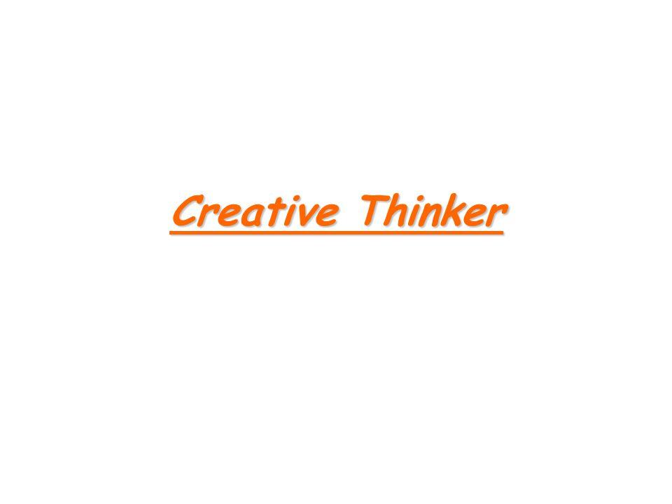 Creative Thinker