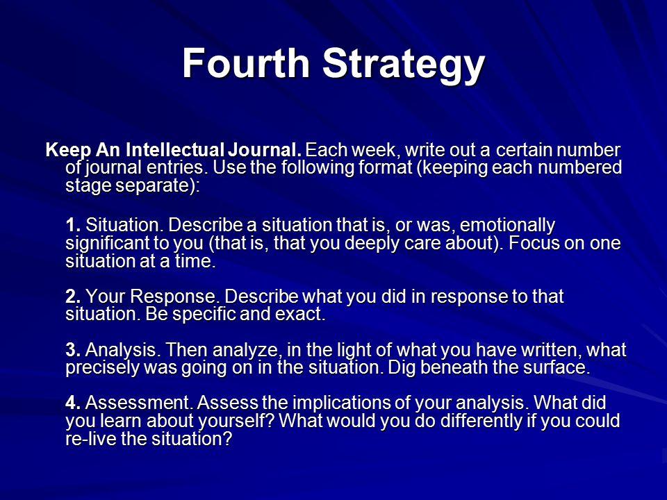 Fourth Strategy