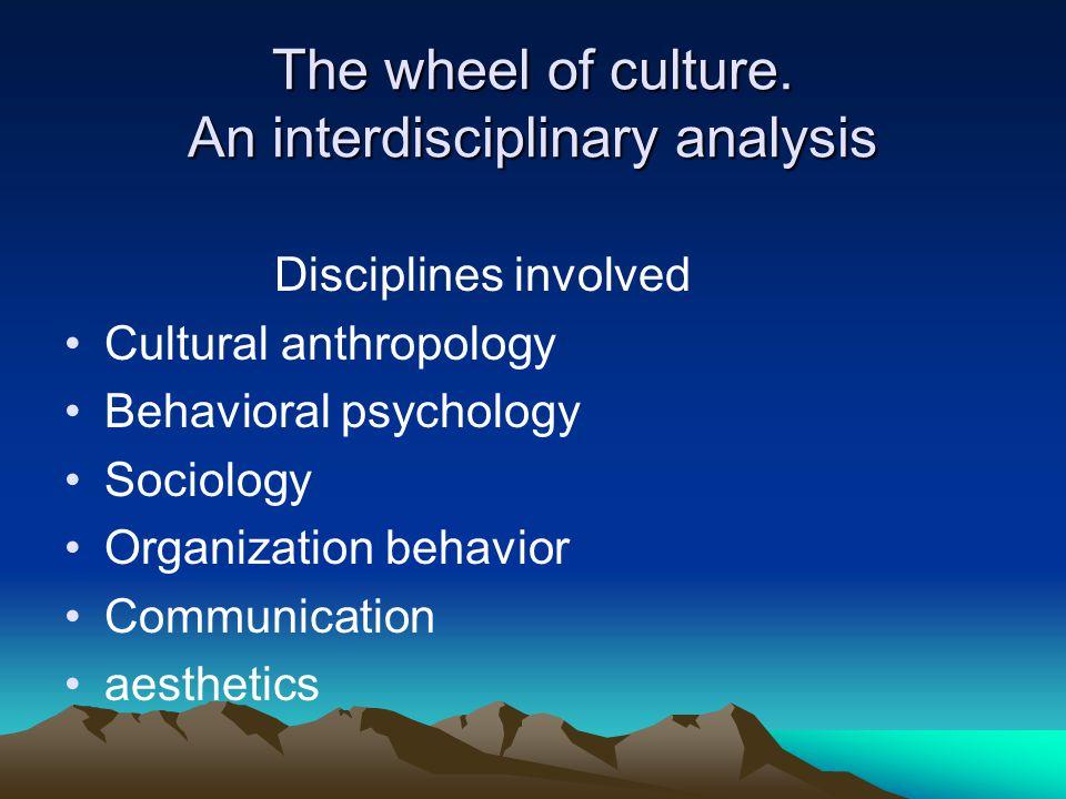 The wheel of culture. An interdisciplinary analysis