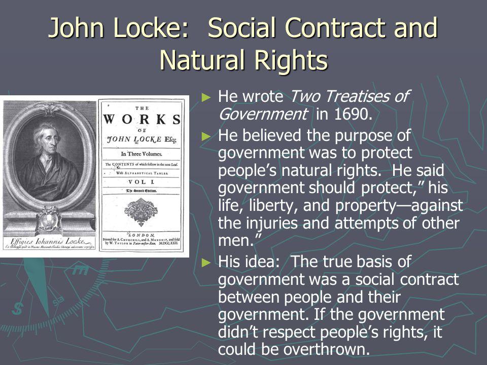 John Locke: Social Contract and Natural Rights