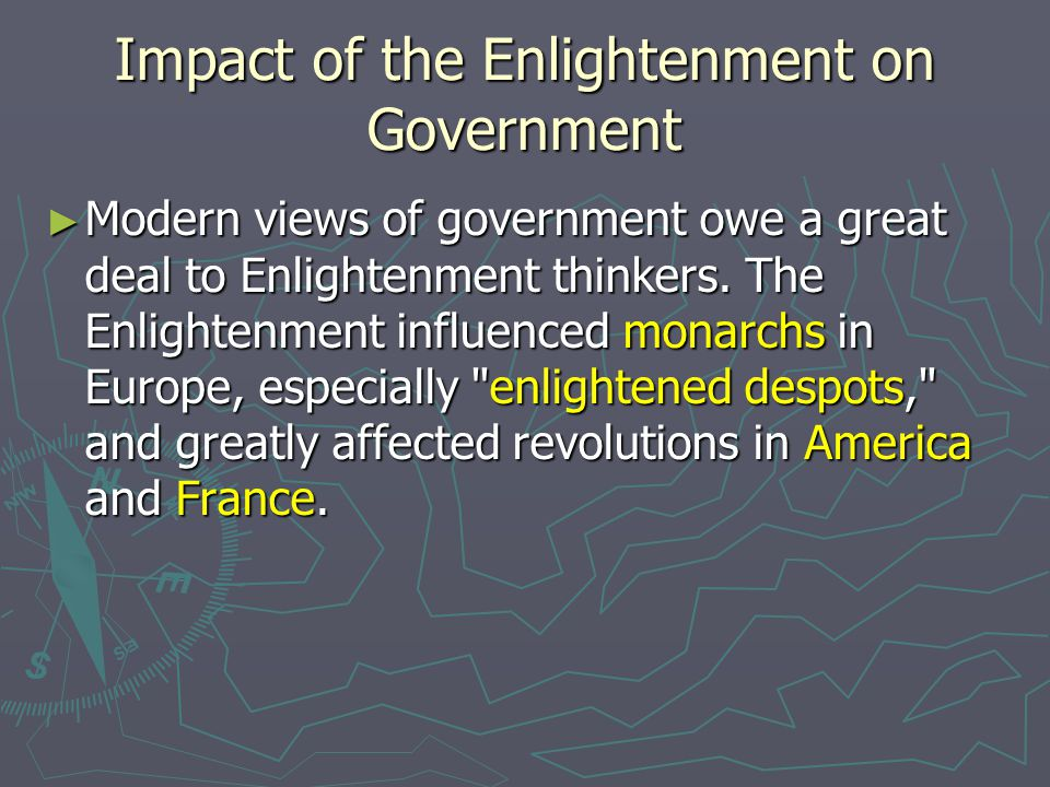 the contribution of the enlightenment to The enlightenment took a major role in the development and construction of modern europe during the enlightenment , many inventions were created, new philosophical ideas were being discussed in massive forums by massive crowds, and now by the average citizen instead of scholars and philosophers.
