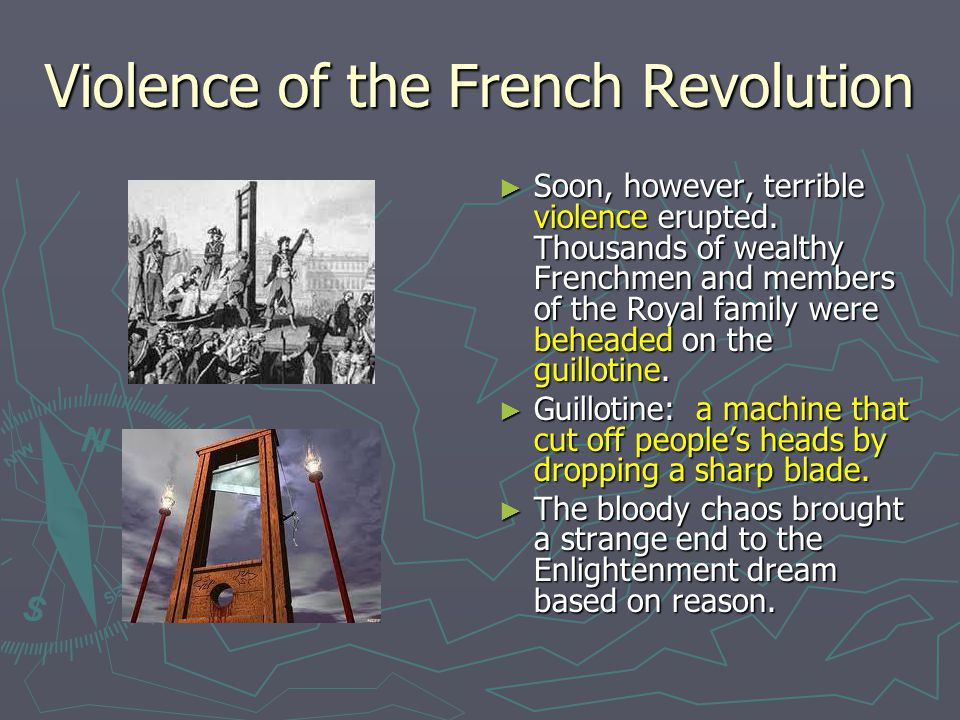 Violence of the French Revolution