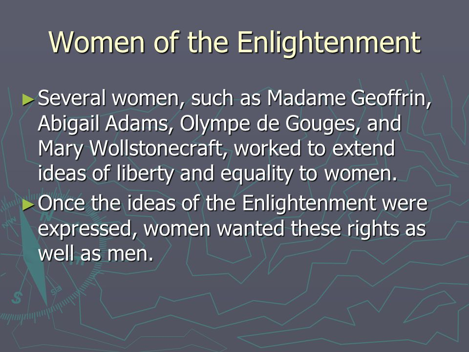 Women of the Enlightenment