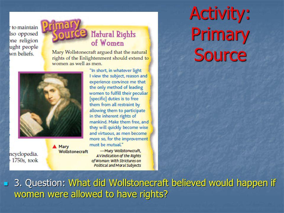 Activity: Primary Source
