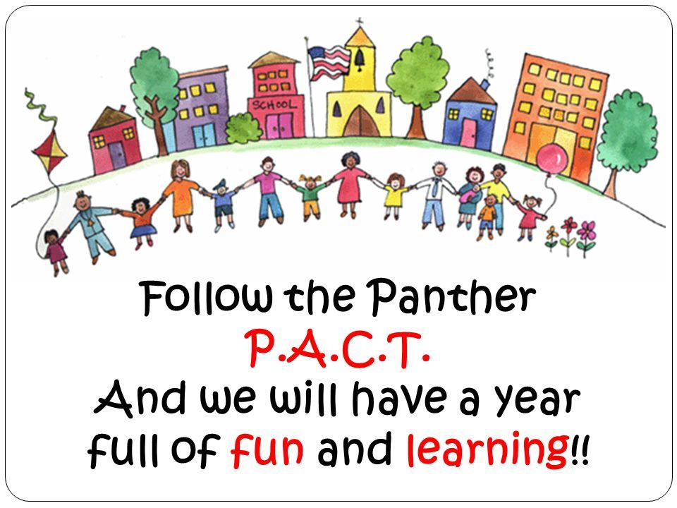 Follow the Panther P.A.C.T.