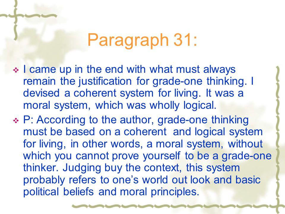Paragraph 31: