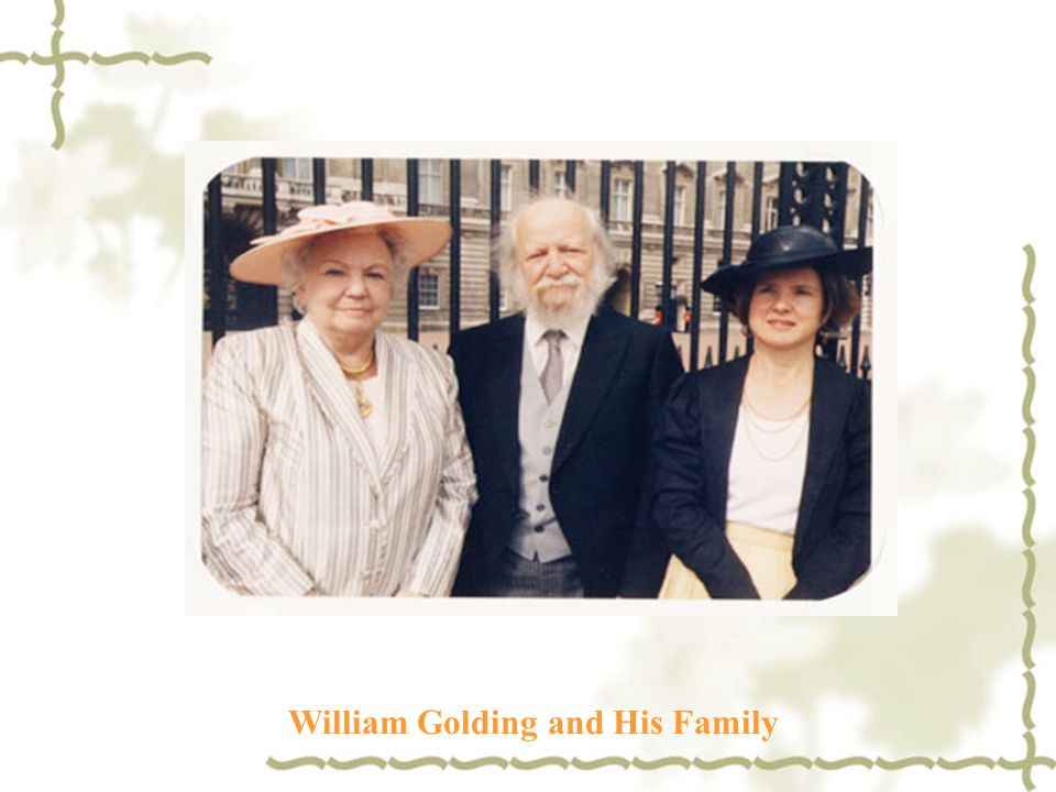 William Golding and His Family