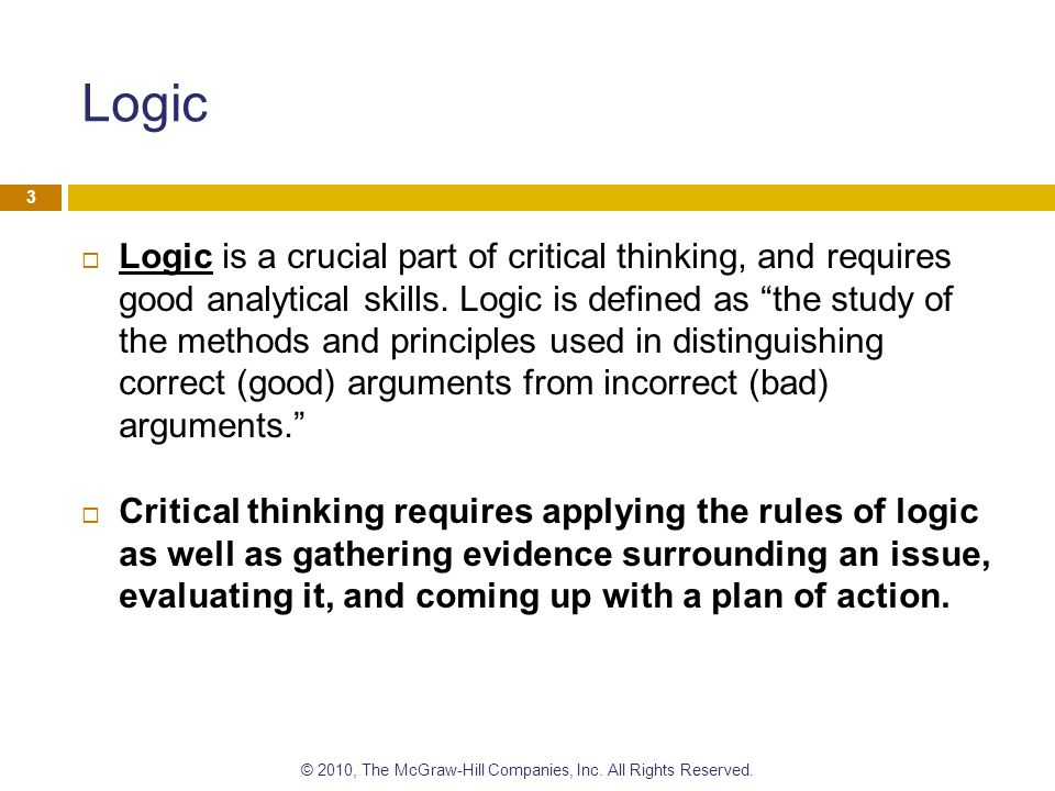 nosich critical thinking definition