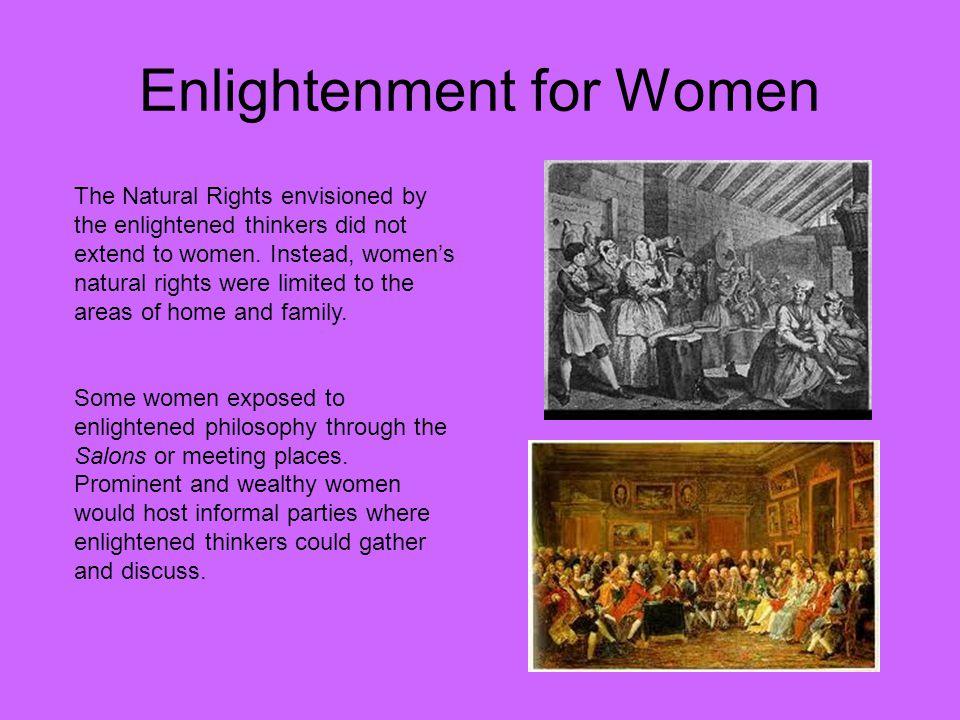 Enlightenment for Women