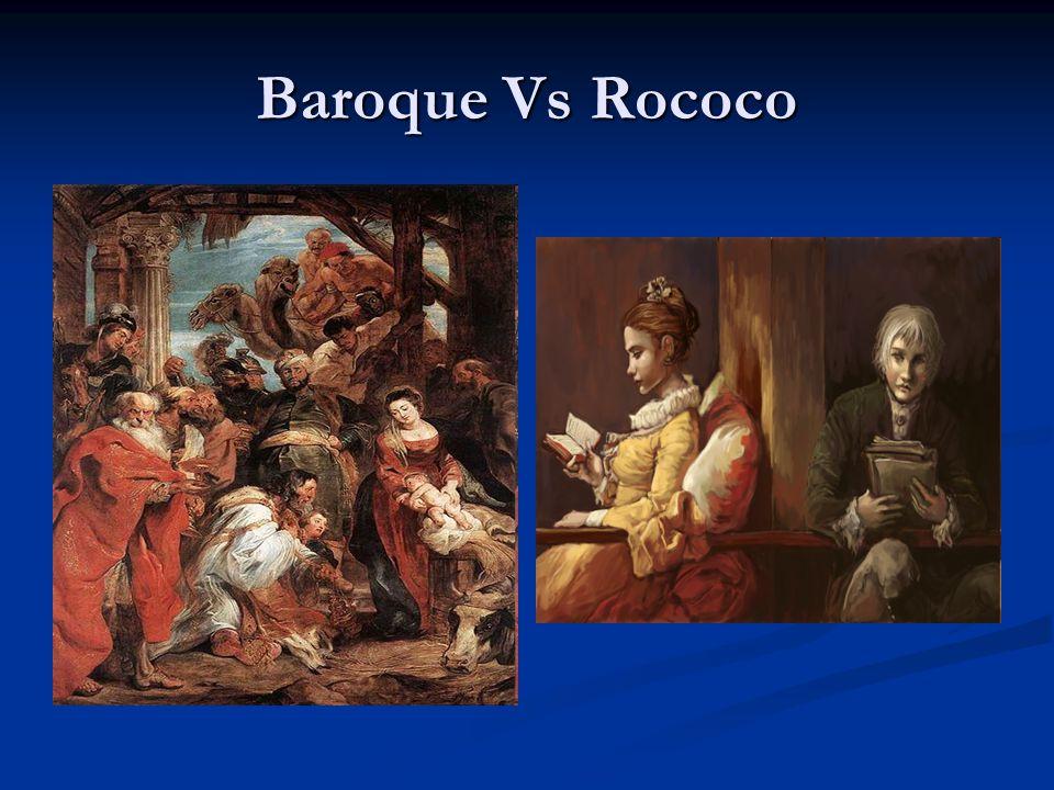 Baroque Vs Rococo