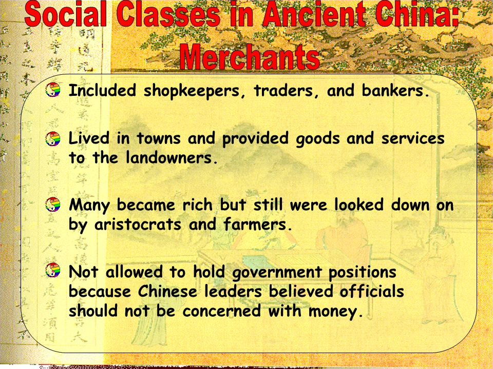 Social Classes in Ancient China: