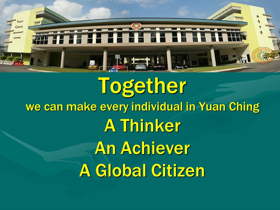 we can make every individual in Yuan Ching