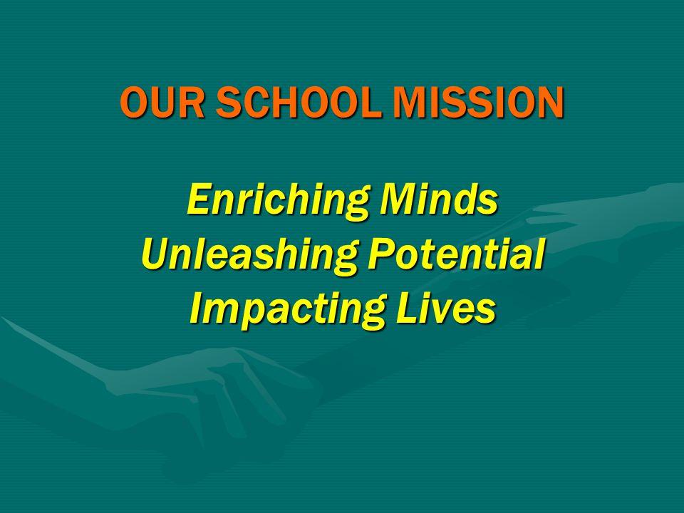 Enriching Minds Unleashing Potential Impacting Lives