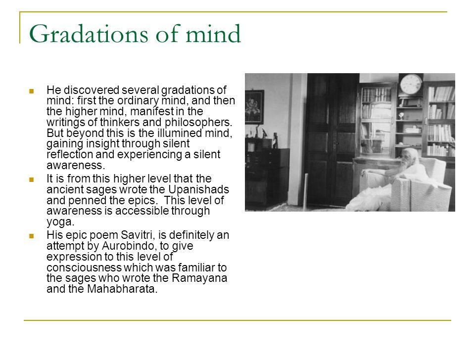 Gradations of mind