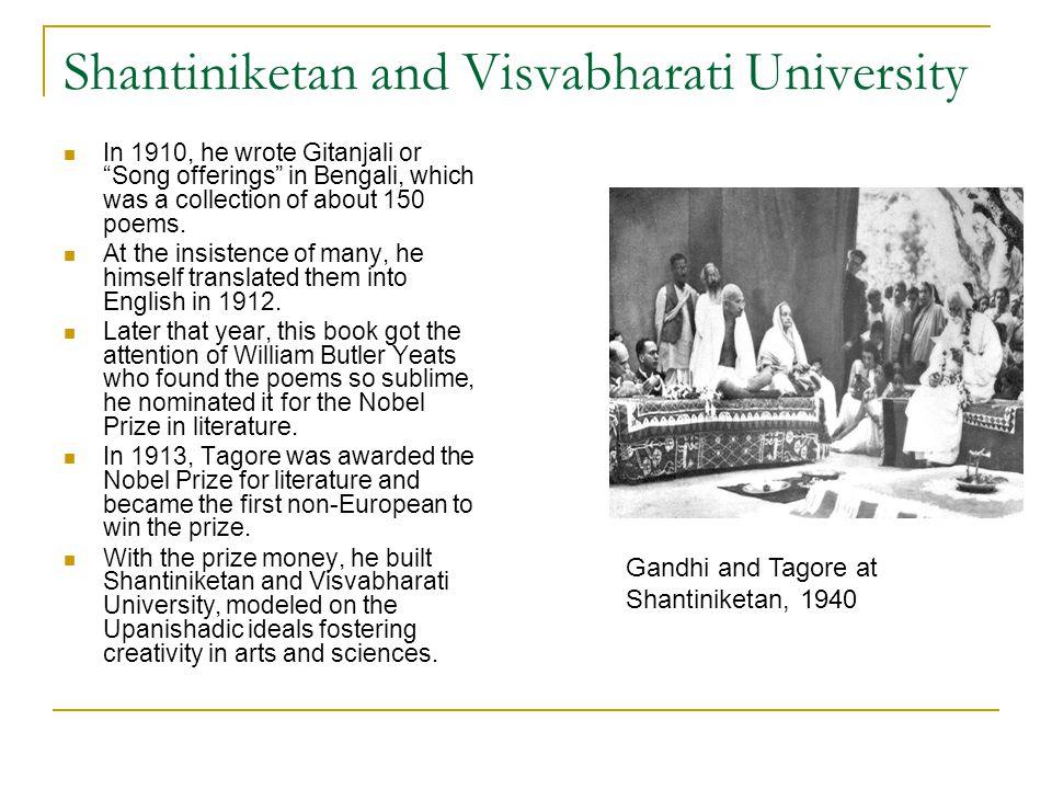 Shantiniketan and Visvabharati University