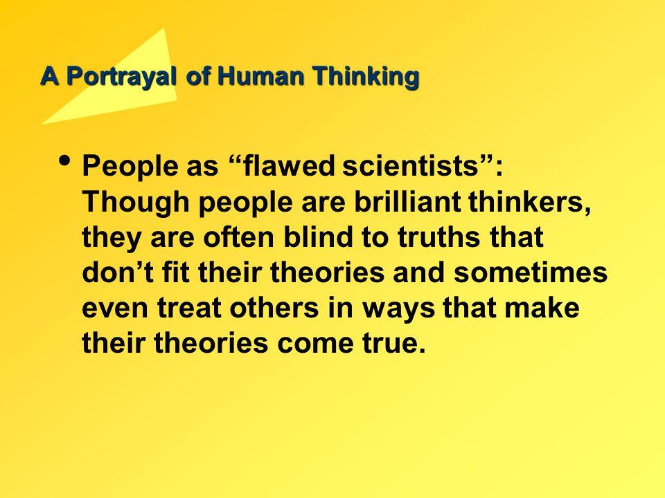A Portrayal of Human Thinking