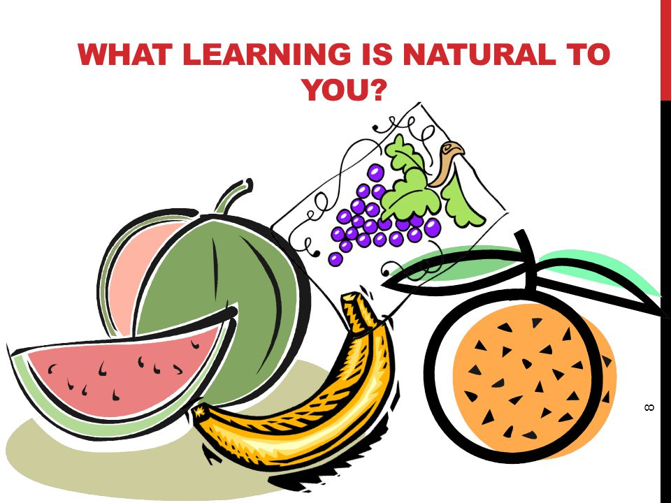 What learning is natural to you