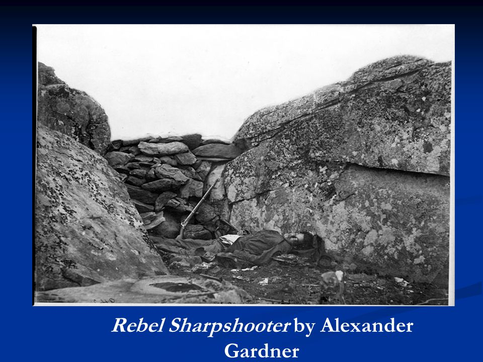 Rebel Sharpshooter by Alexander Gardner
