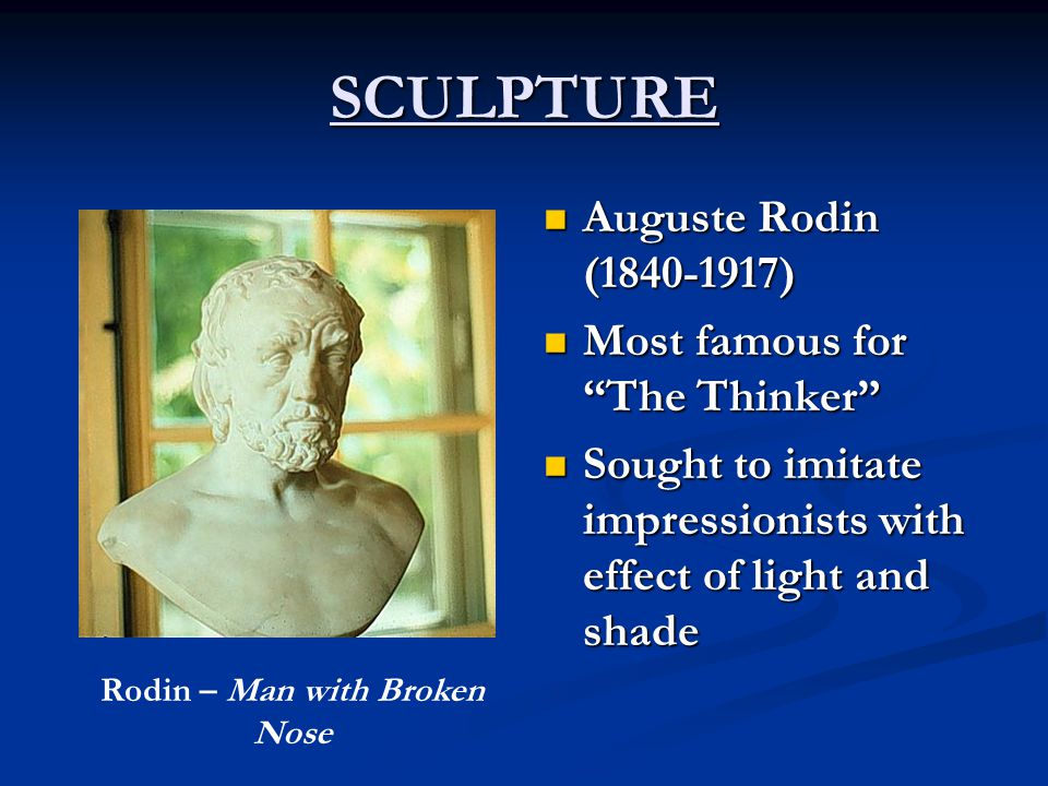 Rodin – Man with Broken Nose
