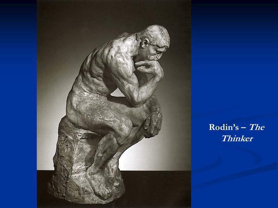 Rodin's – The Thinker