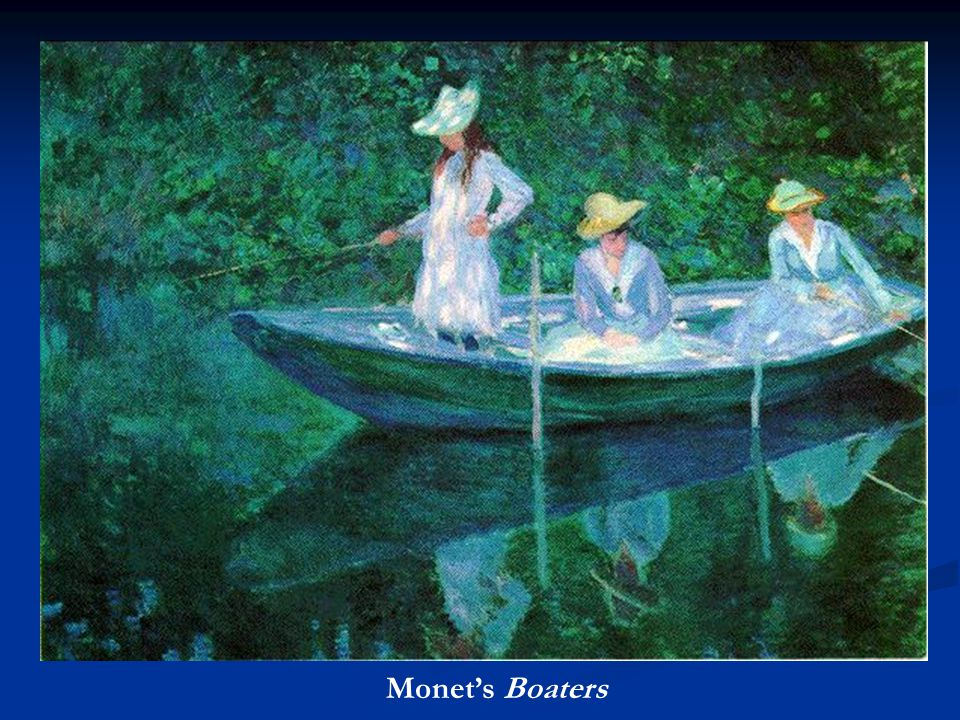 Monet's Boaters