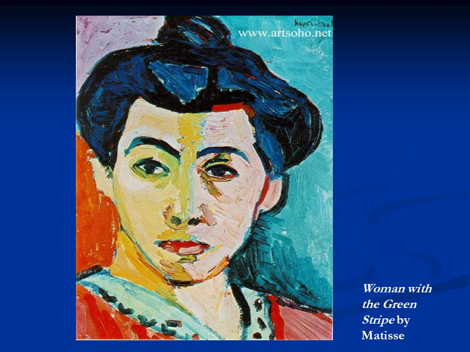 Woman with the Green Stripe by Matisse