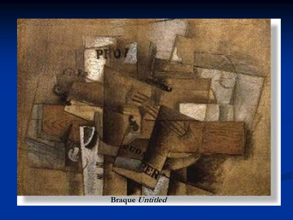 Braque Untitled