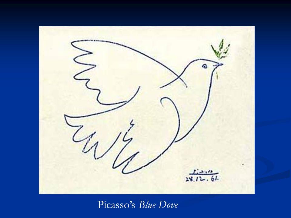 Picasso's Blue Dove