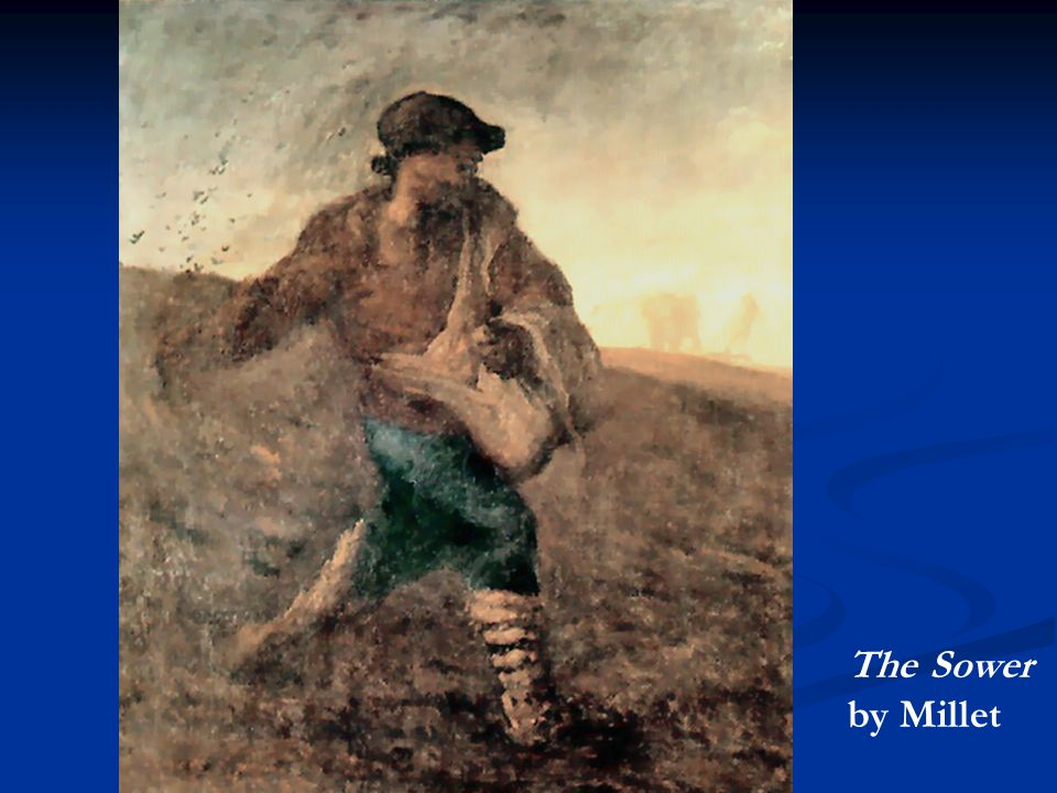 The Sower by Millet
