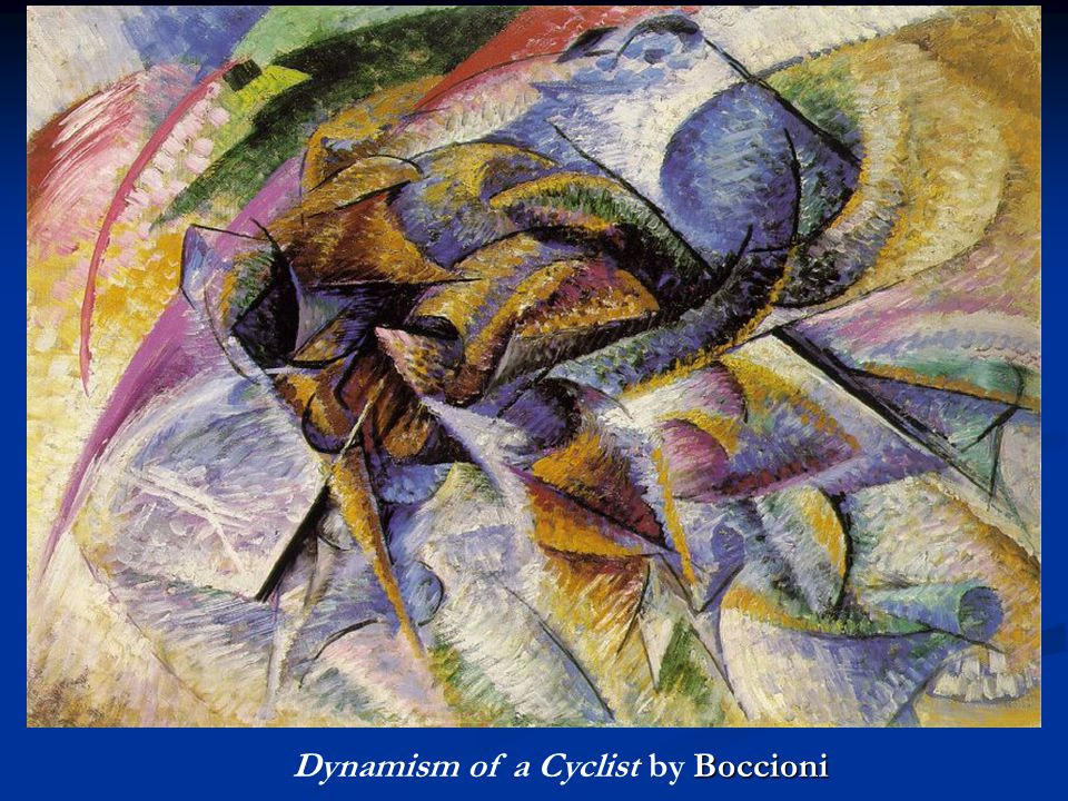 Dynamism of a Cyclist by Boccioni