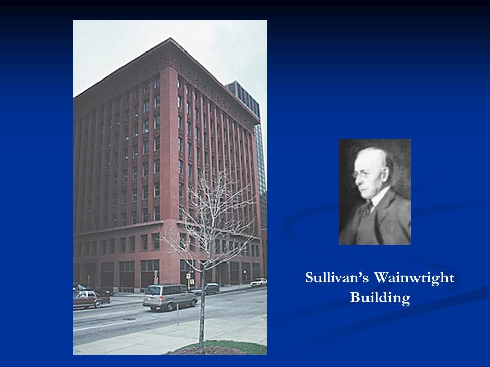 Sullivan's Wainwright Building