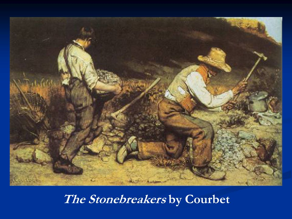 The Stonebreakers by Courbet