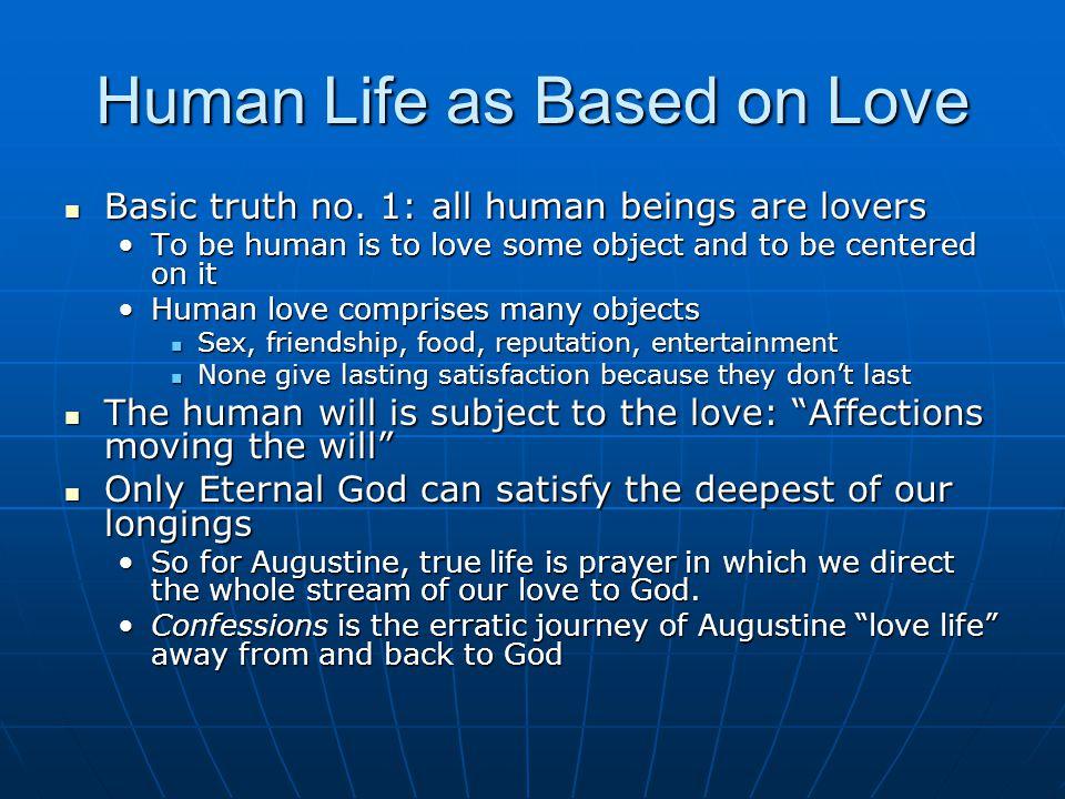 Human Life as Based on Love