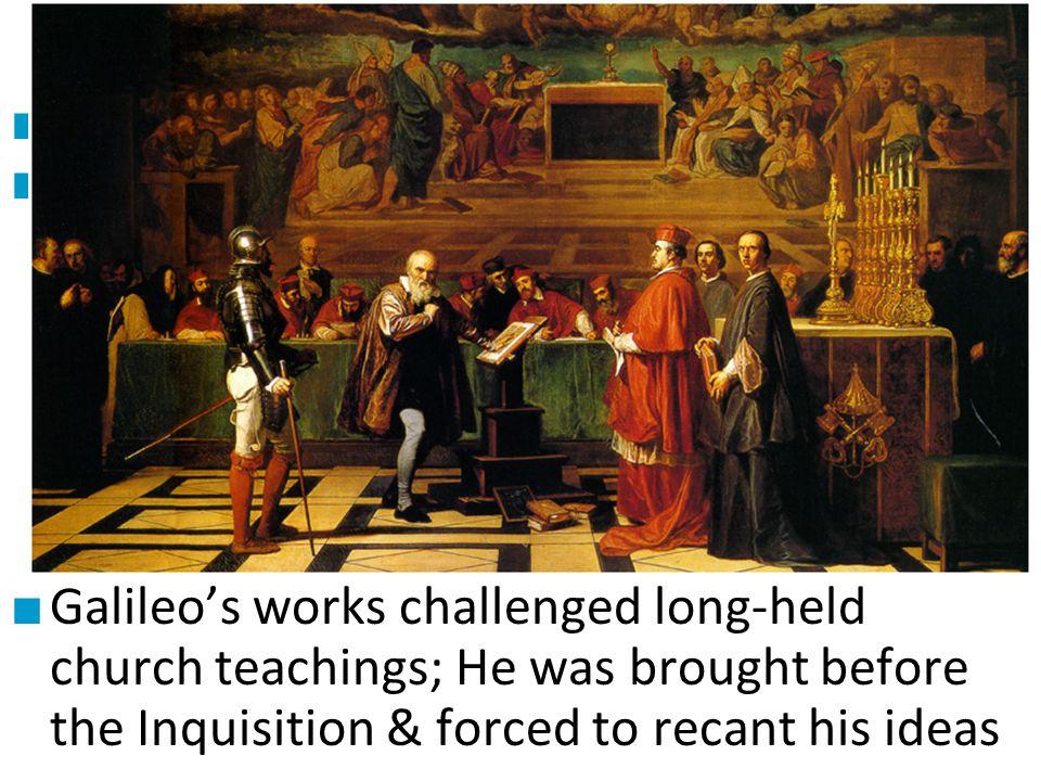 #2 Galileo Galilei Galileo was one of the most