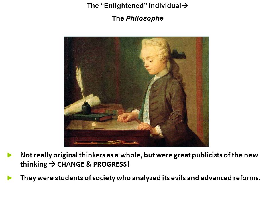 The Enlightened Individual