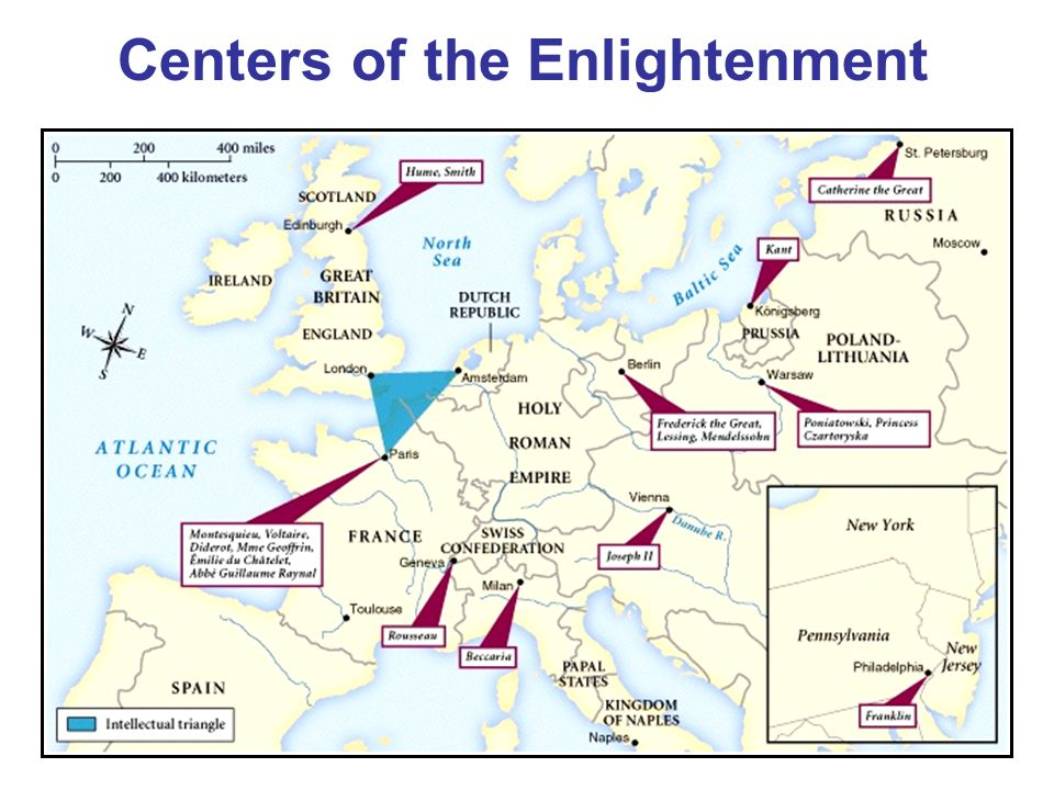 Centers of the Enlightenment
