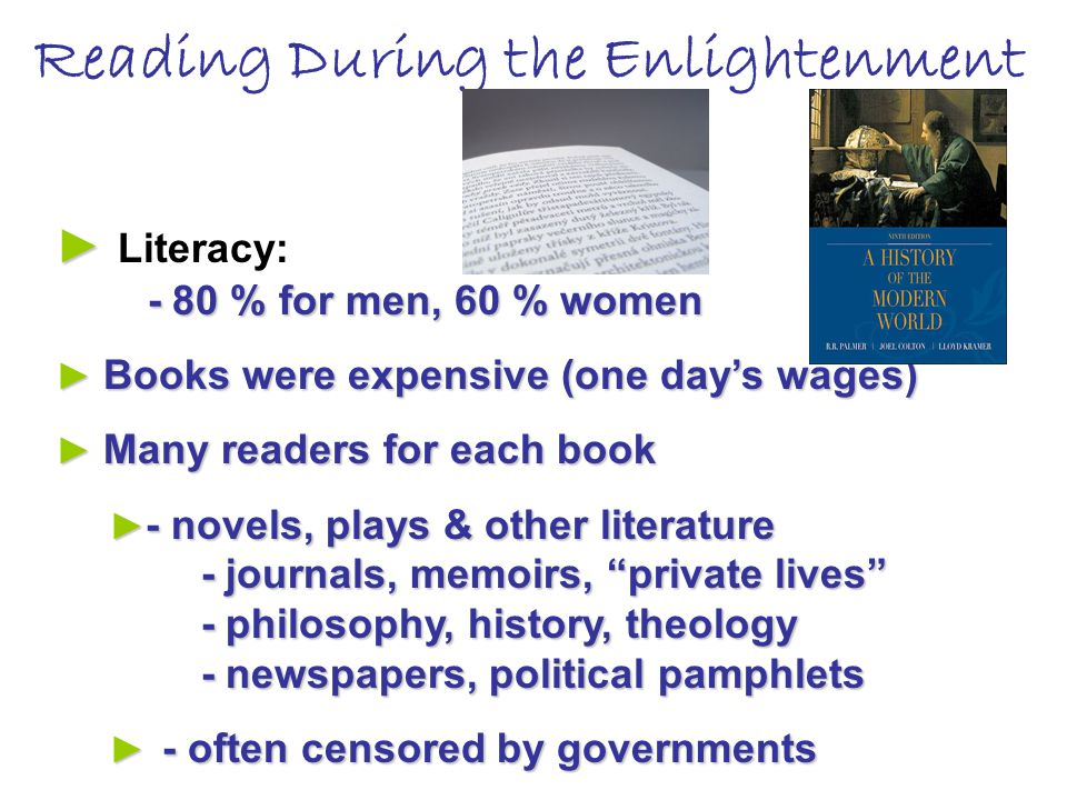 Reading During the Enlightenment